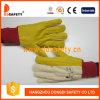 Ddsafety 2017 перчаток золотистой холстины работы по дома работая