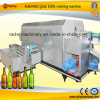 Автоматическое машинное оборудование чистки стеклянных бутылок Drying