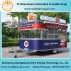 De nieuwe Aanhangwagen van het Voedsel met Nieuw Ontwerp en Facultatieve Kokende Apparatuur