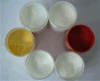 La perla Pearlescent dell'inchiostro della perla del fiocco della mica del pigmento vernicia il pigmento bianco d'argento della perla