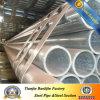 Las BS 1387 clasifican caliente de la pulgada de B 2 el 1/2 sumergido galvanizado alrededor del tubo de acero