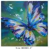 Het mooie Abstracte Olieverfschilderij van de Vlinder van het Beeld van de Muur Hangende (links-700604)