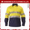 Kundenspezifische Mens-Sicherheits-Arbeits-Großhandelshemden (ELTHVSI-2)