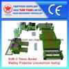 Feutres non tissés de fibre effectuant la chaîne de production