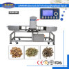 Transportador de processamento de alimentos, detector de metais para cogumelos