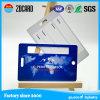 PVC物質的な顧客旅行荷物の札