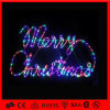 Multi-Color Rope 2D Motif Simple Merry Christmas Letter Light