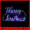 다색 Rope 제 2 Motif Simple Merry Christmas Letter Light