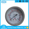a caixa de aço inoxidável de 2.5 '' 60mm grita o tipo manómetro de Micropressure