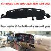 Dashmat para Dodge Ram 1500 2500 3500 1998-2001 a tampa do painel de bordo, tapete antiderrapante