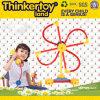 Puzzle éducatif en plastique des jouets 3D de modèle gentil de forme pour des gosses