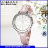Orologio casuale classico delle signore del quarzo di modo di moda (Wy-043D)