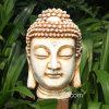 도매 수지 정원 훈장을%s 백색 Buddha 헤드