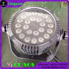 Luz impermeable 24X10W LED de la IGUALDAD al aire libre de DMX