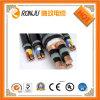 Cable de transmisión acorazado de cobre de la envoltura del PVC del alambre de acero del aislante de la base XLPE