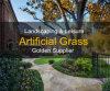 La plupart d'herbe artificielle réaliste pour aménager (es)