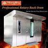 64 cassetti che cuociono il forno rotativo della cremagliera del gas della macchina per la fabbrica del pane