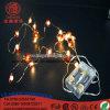 Luz ao ar livre da decoração do Natal de Santa Halloween da abóbora de cobre do diodo emissor de luz Ligthing 10m100LEDs