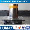ステンレス鋼の安全半自動ボラード