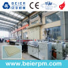 WPC Hoja de espuma de PVC/placa de la línea de extrusión de plástico/máquina extrusora