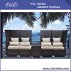 Insieme di vimini del sofà del rattan del patio esterno, mobilia del giardino (J410)