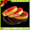 Fascia di manopola personalizzata del braccialetto della gomma di silicone per i regali promozionali con il marchio