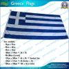La Grèce drapeau national avec clip de soeur, de filés de polyester (NF05F09004)