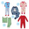 Sleepwear der bunten organischen Baumwollkinder