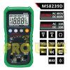 Multimètre numérique autoportant professionnel avec analyseur de moteur (MS8239D)