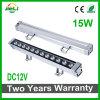 Cc12V 15W LED de exterior de la luz de lavado