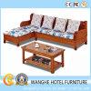 O sofá de vime do Rattan ao ar livre luxuoso do PE do jardim do pátio ajustou-se para a HOME