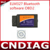 Elm327 BluetoothのソフトウェアOBD2 Eobdできバススキャンナーのツールは出荷を解放する