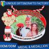 Fabrico de venda superior variedade Medalha de metal de tamanho personalizado