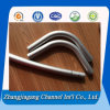 Kundenspezifisches Aluminium Elbow Pipes mit Drilling Hole
