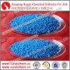 Pentaidrato del solfato di rame del granello Cu25% dell'azzurro del micronutriente 2-4mm