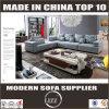 L-förmige Möbel gepolsterte Wohnzimmer-Zeitgenosse-Couch des Gewebe-2017