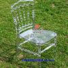 Cadeira de Napoleão de casamento em acrílico de resina
