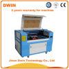 Machine de gravure et de découpe au laser sur papier en acrylique en bois