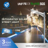 Luces de calle integradas accionadas solares de Bluesmart con la lámpara del LED