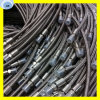 Conjunto de mangueira flexível personalizado do metal do aço 304 inoxidável