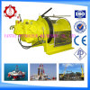 Pneumatic Power Source and Craniums Application Small Winch with Remote Control