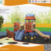 Le bateau pirate de la conception d'enfants à l'intérieur de l'équipement de terrain de jeux pour enfants en plastique