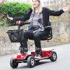 2017 4 колес складывая электрический самокат удобоподвижности для инвалид