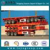 3 des essieux 40FT de conteneur de lit plat remorque semi