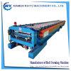 L'exportation des produits de base en carton ondulé Making Machine de formage de rouleau de toiture en métal du panneau de toit de la machine d'onde