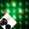 Напольное движение звезды IP65 репроектор лазера красных/зеленого цвета 8 цветка поливает света рождества
