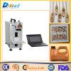 Máquina caliente de la marca del laser de la fibra del CNC de la venta 20W para el acero inoxidable/el plástico