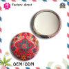 Miroir coloré personnalisé de main de logo mini