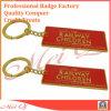 Porte-clés fait sur commande en métal de 2D/modèle du logo 3D pour le cadeau promotionnel