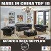 Modern Chesterfield sofá de couro definido